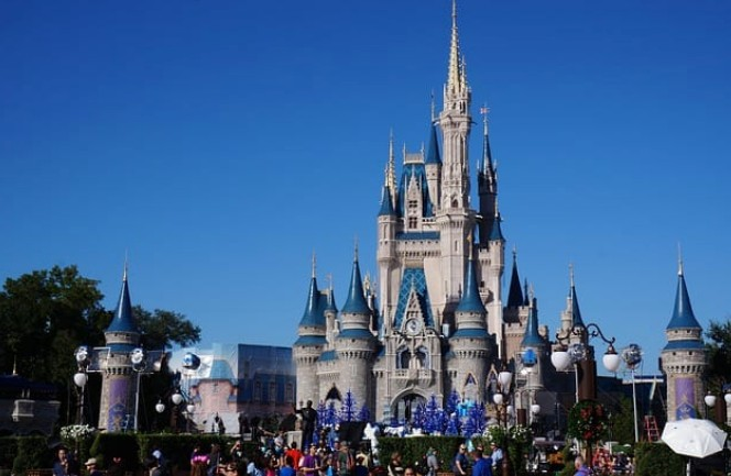 Magic Kingdom: Frente do Castelo da Cinderela na Disney