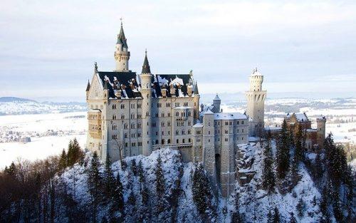 foto do Castelo de Neuschwanstein
