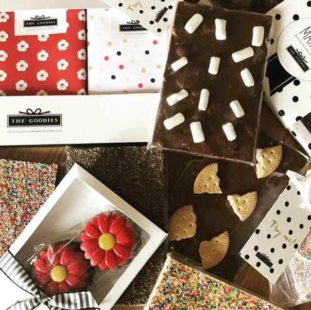 chocolates personalizados da The Goodies