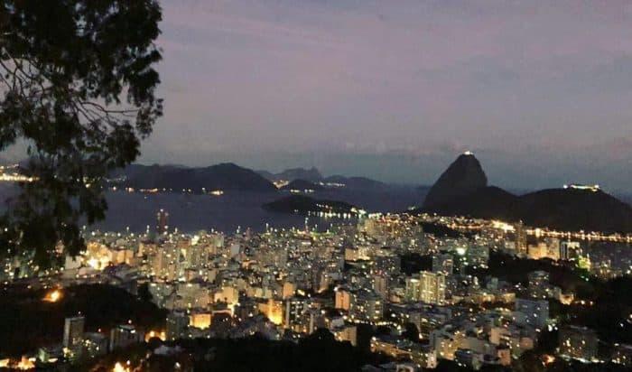 vista panorâmica do Rio de Janeiro