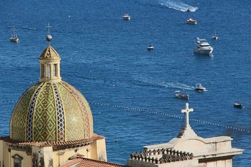 Passeio de barco na Costa Amalfitana