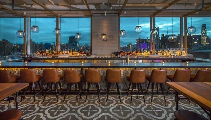 Bar luxuoso em Nova York