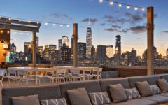 5 rooftops para curtir a noite em Nova York