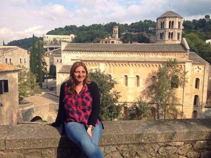 prédios históricos de Girona