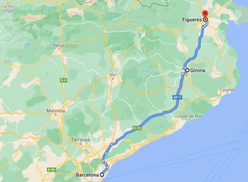 Girona Espanha Mapa