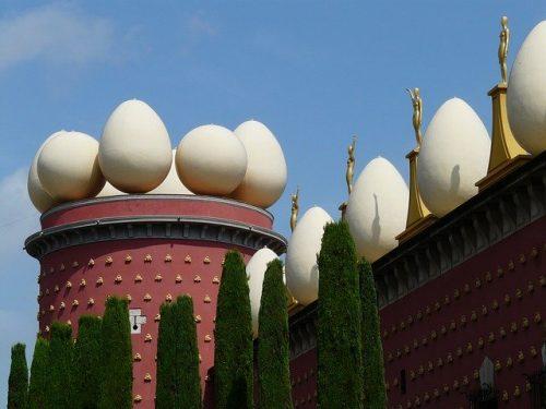 Ovos no Museu de Dalí