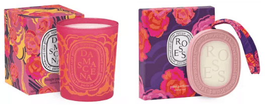 Produtos perfumados, com embalagens bonitas e coloridas