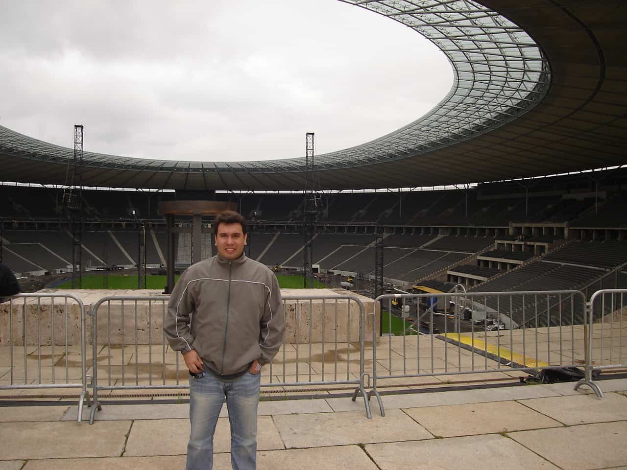 Interior do Estádio Olímpico de Berlim