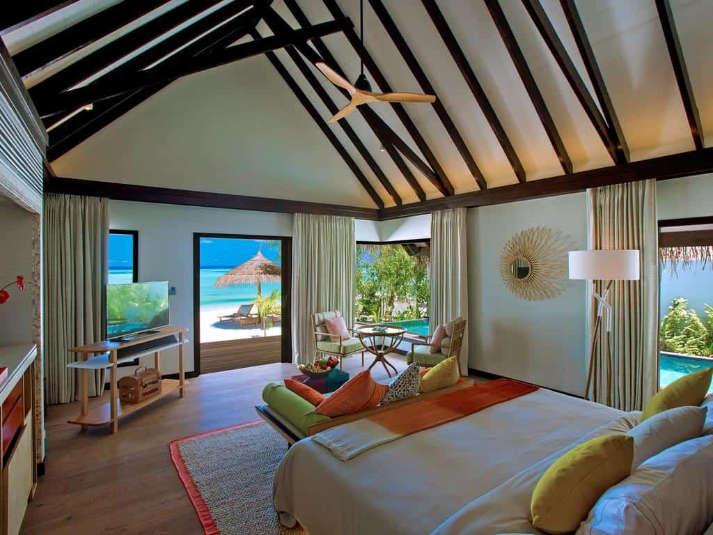 hotéis incríveis: Hotel nas Maldivas