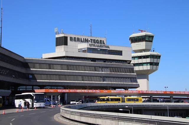 Aeroporto de Tegel, em Berlim