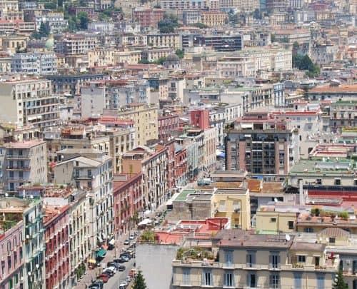 cidade do sul da Itália