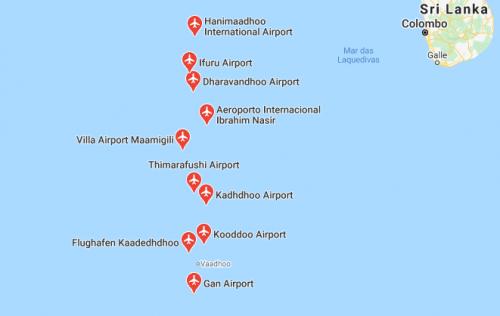 Aeroportos das Maldivas