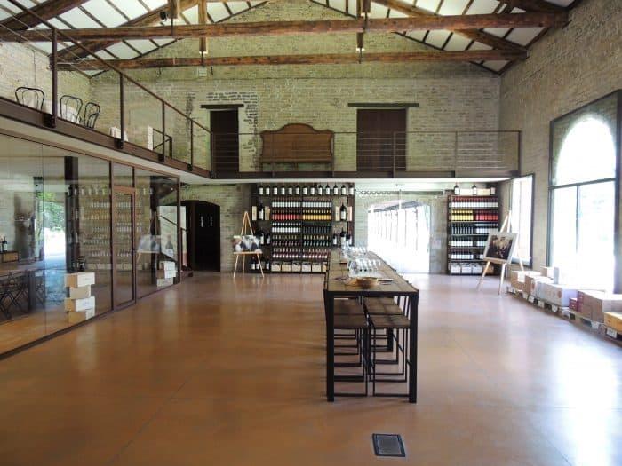 Castelos na Europa: Loja de vinhos do Castello Di Roncade