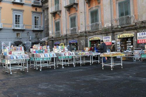 Livraria na Itália