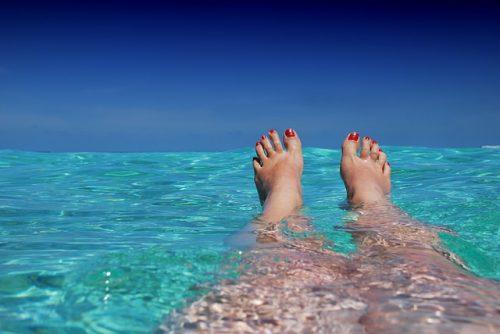 Verão nas Maldivas