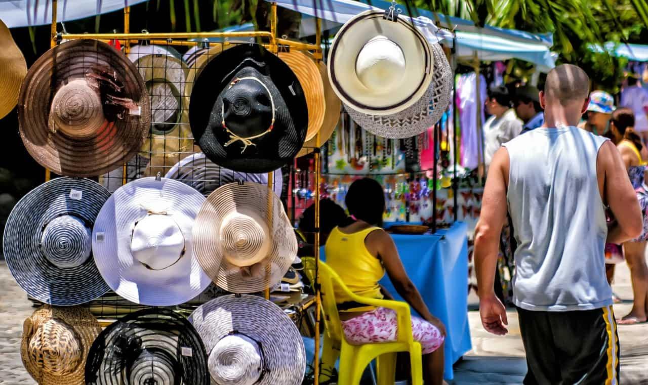 Comércio de rua de Búzios