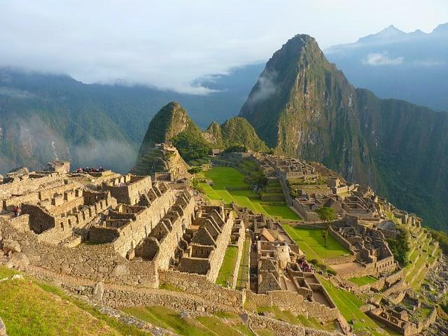 ruínas do Machu Picchu