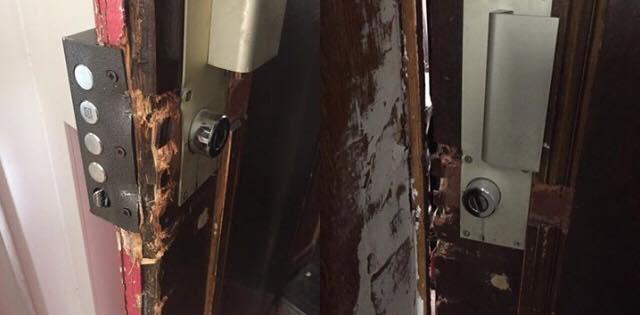 apartamento arrombado em Paris