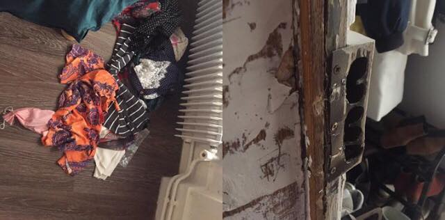 Apartamento roubado em Paris