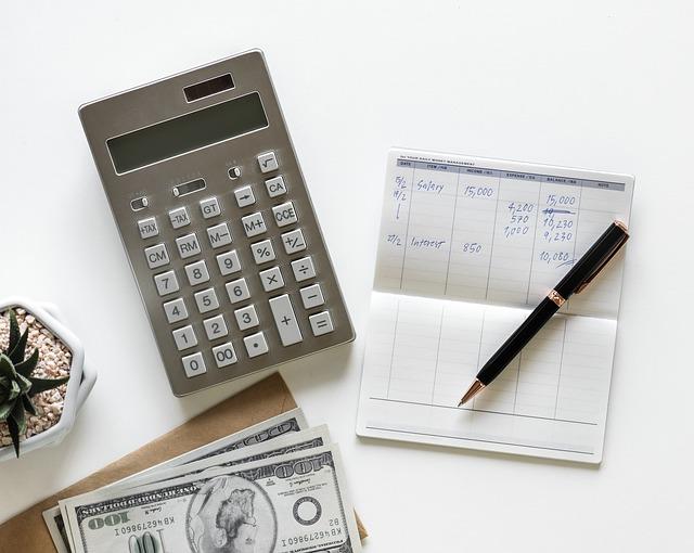Cálculos de contas