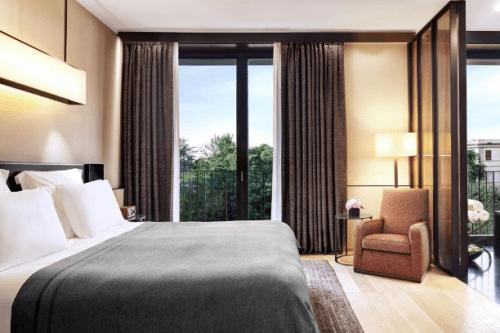 Onde se hospedar em Milão, Bulgari hotel Milan