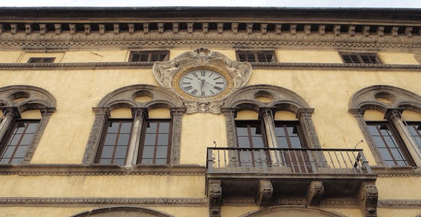 Construção medieval de Lucca