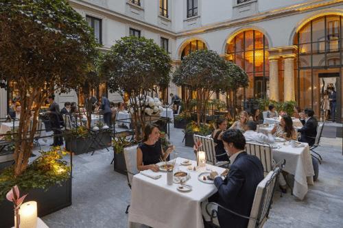 Rstaurante Mandarin Oriental Milan