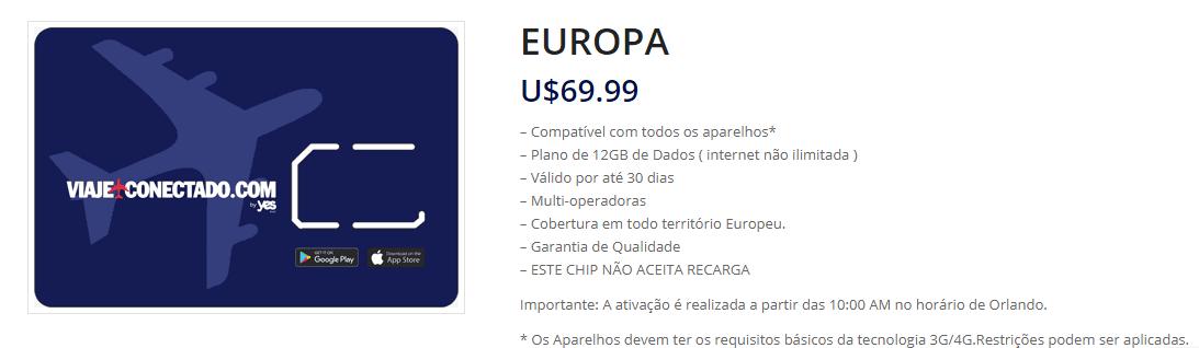 Viaje Conectado Europa