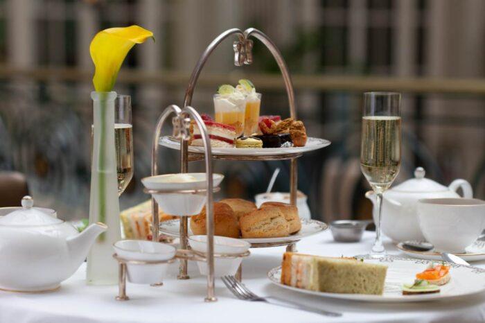onde tomar chá em Londres