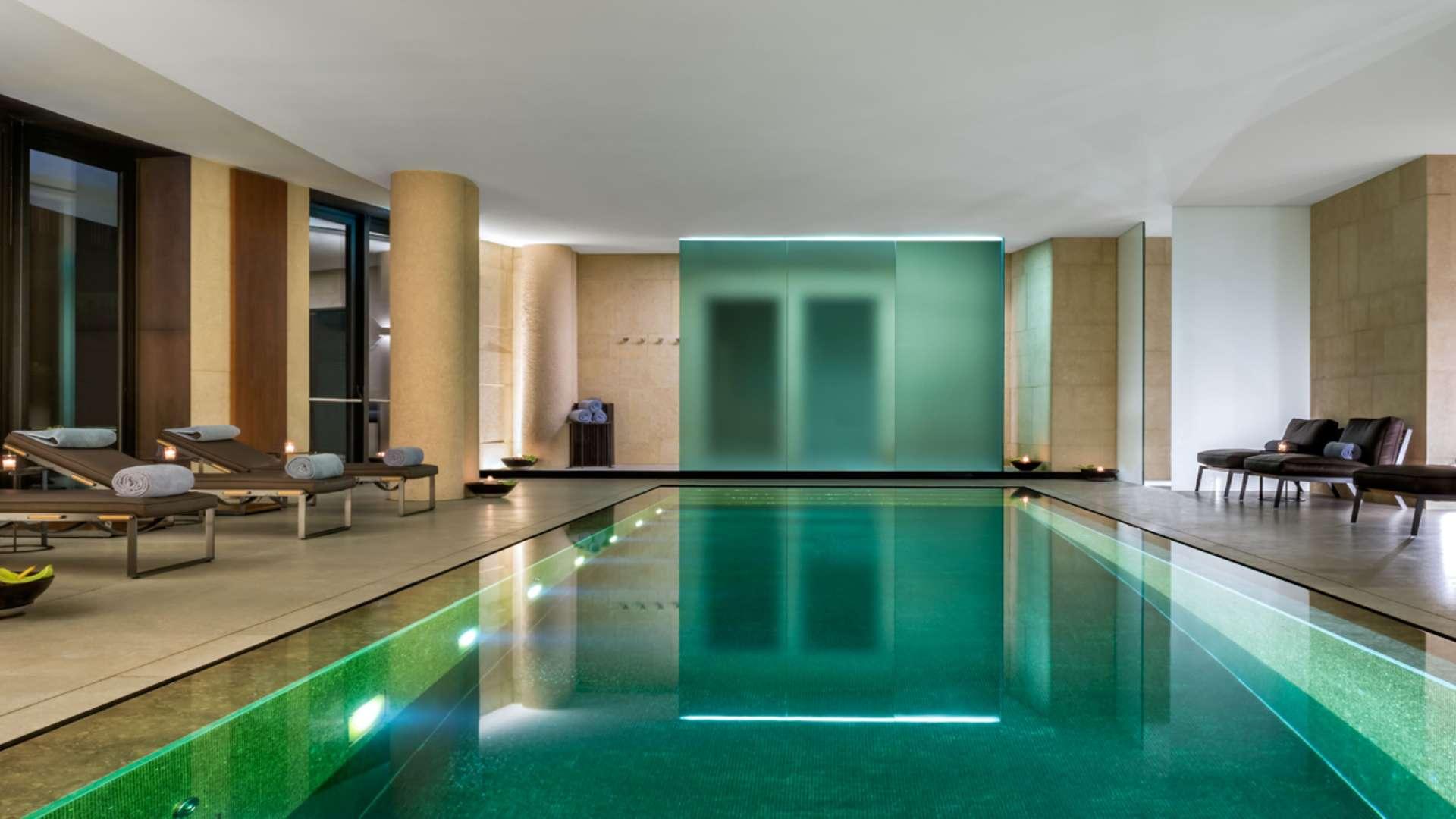 Onde ficar em Milão: o Bulgari Hotel Milano tem um spa luxuoso