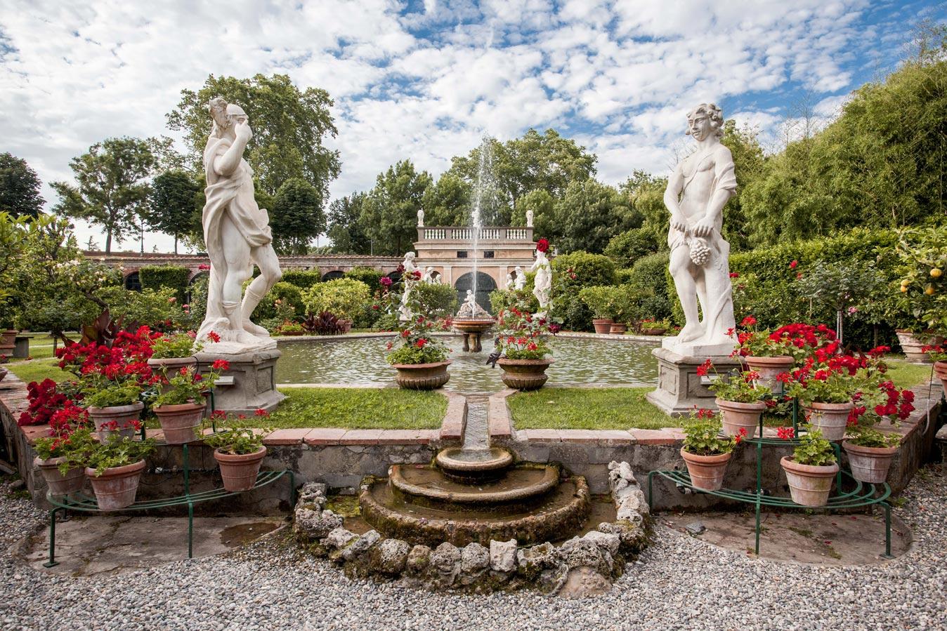Jardim do Palazzo Pfanner