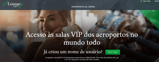 Site do LoungeKey