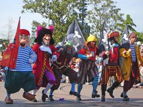 Personagens do Peter Pan na Disney