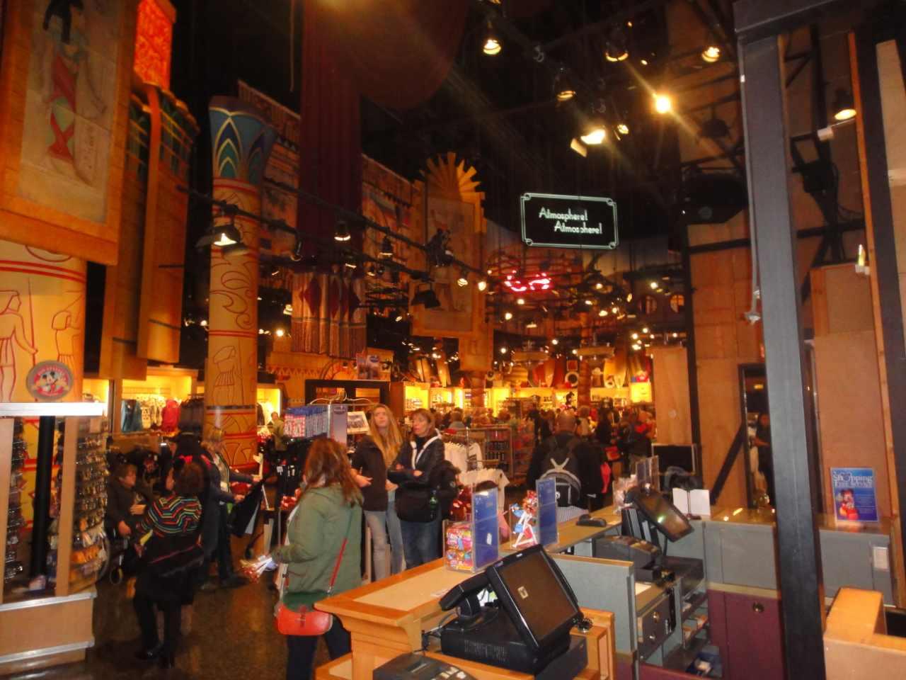 Disneyland Paris: Loja com produtos da Disney em Paris