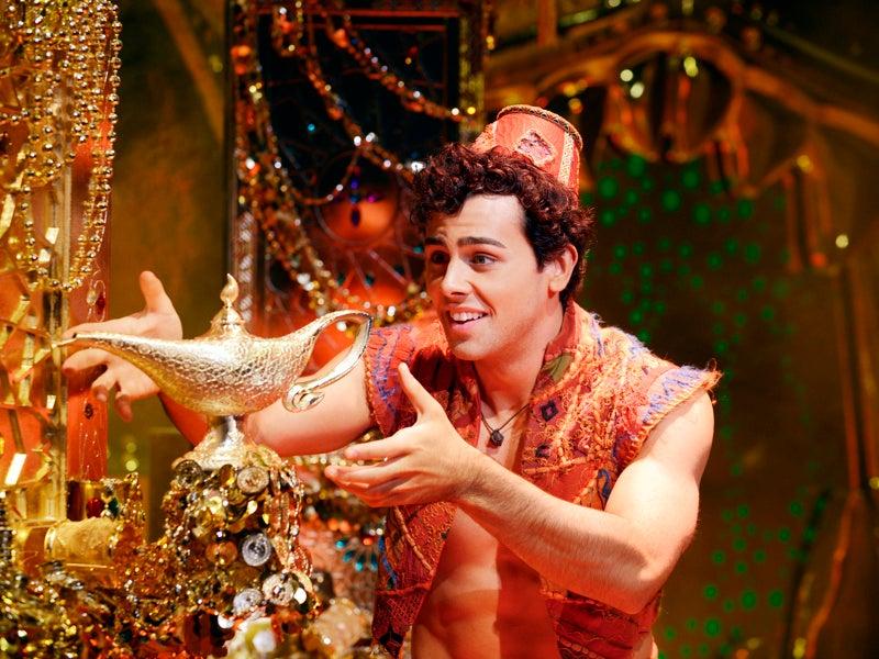 Peça Aladdin na Broadway