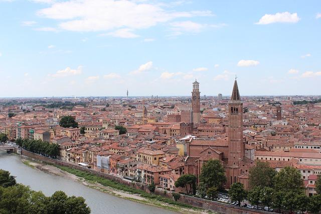 Vista panorâmica de Verona