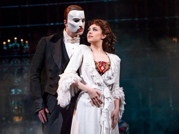 fantasma da ópera broadway