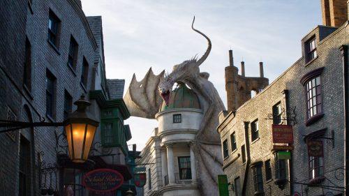 Área do Harry Potter no Universal Orlando Resort