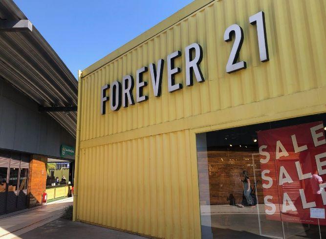 outlet da Forever 21 em Outlet de São Paulo