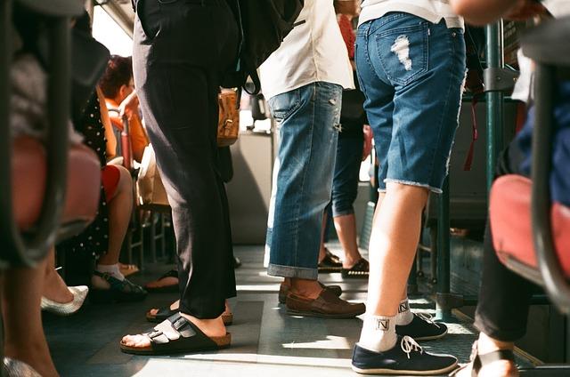 Passageiros no metro