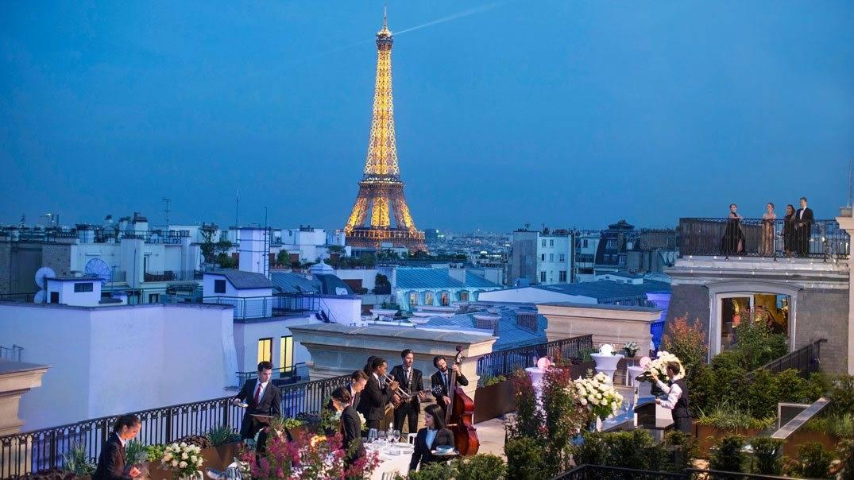 Hotel Paris: rooftop do Península