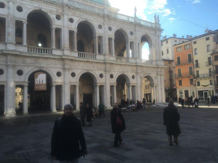 basílica Palladiana na região do Veneto
