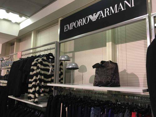 Outlet da Armani