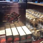 Chocolate com leite de camela: souvenir de luxo de Dubai