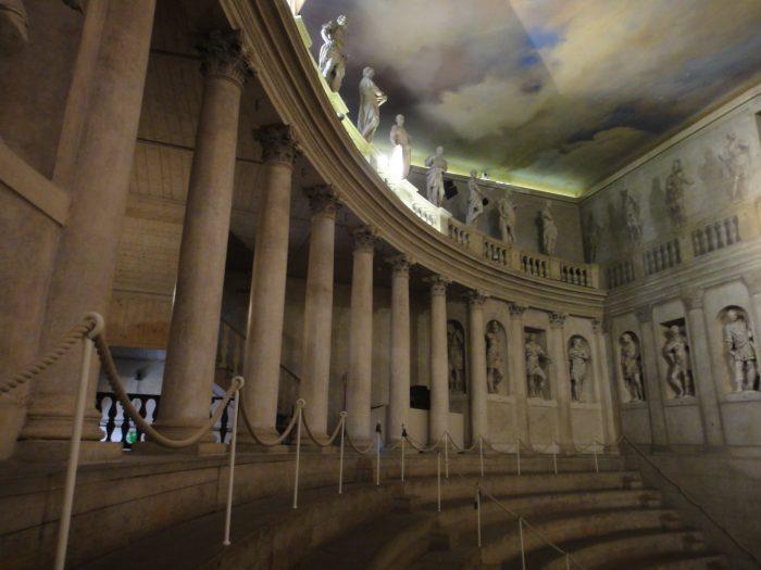 Interior do Teatro de Vicenza
