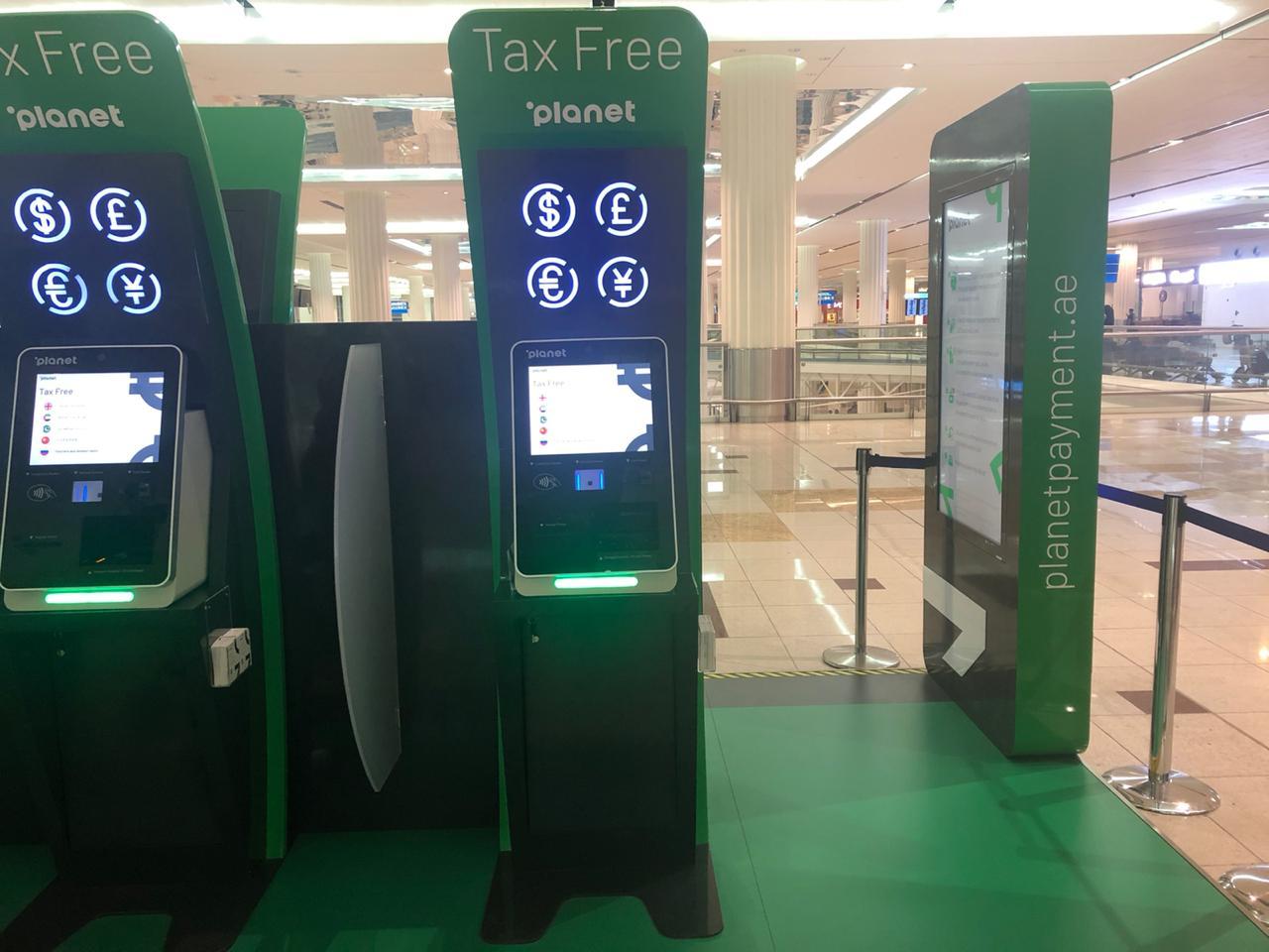 Toten de tax free em Dubai