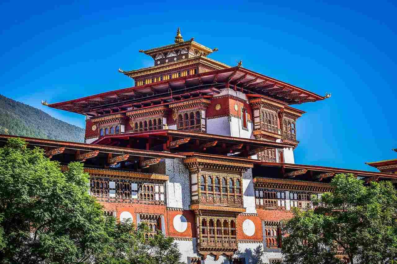 Seguro Viagem Ásia: arquitetura Butão