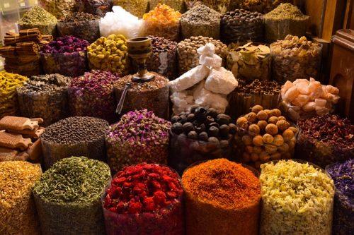 Especiarias em Dubai