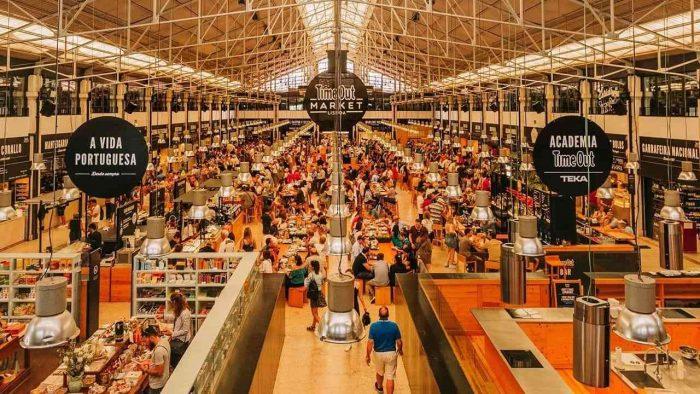 bacalhau em Lisboa: Mercado da Ribeira