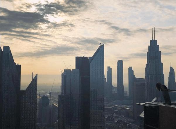 Paisagem urbana de Dubai